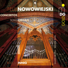 Nowowiejski: Concertos For Solo Organ Vo