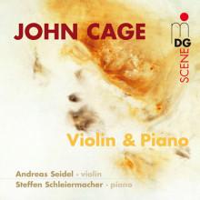CAGE: Opere per violino e piano