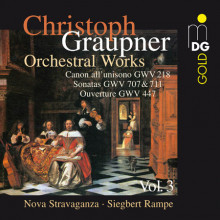 Graupner: Opere Orchestrali Vol.3
