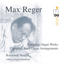 REGER: Complete Organ Works and Bach Org