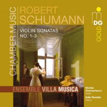 SCHUMANN:  Sonate per violino NN. 1 - 3