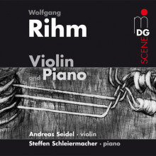 RIHM: Music for Violin and Piano