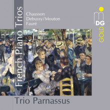 Chausson - Faure - Debussy - Mouton: Trii