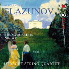 Glazunov: String Quartets Vol. 5 - No. 1