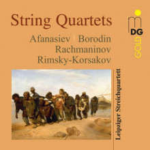 AA.VV.: Russian String Quartets