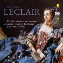 Leclair: Recreation De Musique 1 & 2