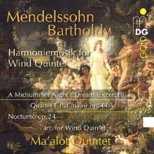 MENDELSSOHN:Harmoniemusik for wind quint