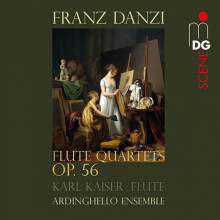 DANZI FRANZ: Quartetti per flauto - Op.56