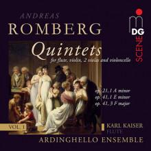 ROMBERG ANDREAS: Flute Quintets - Vol.1