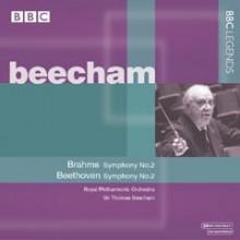 Beecham dirige Brahms e Beethoven