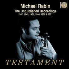 M.RABIN:Registrazioni inedite(1947 - 1971)