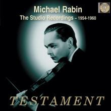Michael Rabin: Studio Recordings 1954 - 60