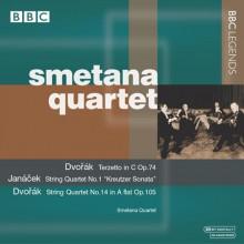 Quart. Smetana Interpreta Dvorak - Janacek