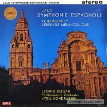 LALO: Symphonie espagnole - Op.21 CIAIKOVSKY: Sérénade mélancolique