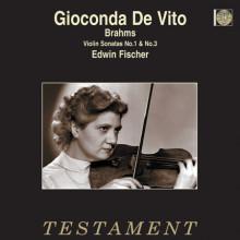 BRAHMS: Sonate per violino NN.1 & 3