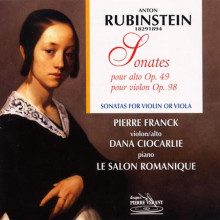 Rubinstein: Sonata Per Viola Op.49