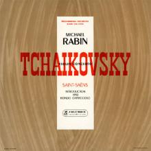 CIAIKOVSKY: Concerto per violino - Op.35 - SAINT - SAENS: Introduzione e Rondò Capriccioso - op.28