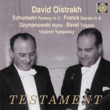 Oistrakh esegue Schumann - Franck - Ravel