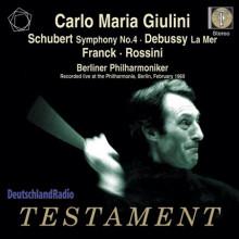 Giulini Dirige Schubert - Debussy - Rossini