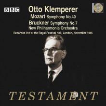 Klemperer Dirige Bruckner & Mozart