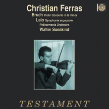 Christian Ferras  esegue Bruch e Lalo