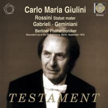 Giulini Dirige Rossini - Gabrieli...