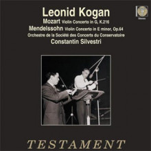 MOZART - MENDELSSOHN: Concerti per violino