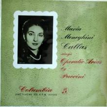 PUCCINI: Maria Callas canta arie d'opere pucciniane
