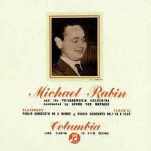 Rabin esegue Glazunov e Paganini