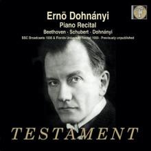 DOHNANYI: Recital per piano