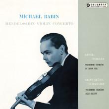 Rabin esegue MENDELSSOHN  RAVEL Tzigane - SAINT - SAËNS Havanaise - Op.83