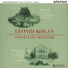 Leonid Kogan esegue MENDELSSOHN:  Concerto per violino - Op.64 MOZART: Concerto per violino N.3 - K.216