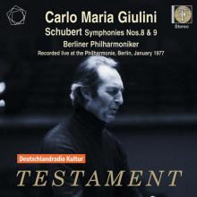 Giulini Dirige Schubert(sinf. Nn.8 & 9)