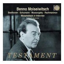 MOISEIWITSCH suona Beethoven - Schumann..