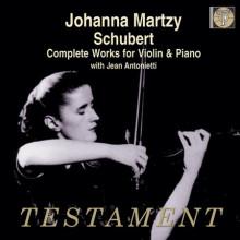 Johanna Martzy Esegue Schubert