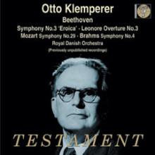 Klemperer dirige Beethoven - Brahms - Mozart