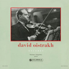 DAVID OISTRAKH: Encores per vliolino e piano
