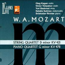 Mozart: Quartetto Per Archi