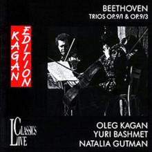 BEETHOVEN: Trii Op.9 N.1 e N.3