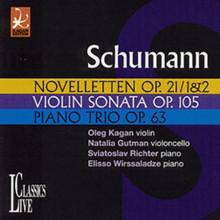 SCHUMANN: Trii per piano/Sonata per vl