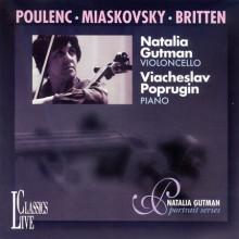 POULENC - BRITTEN - MIASKOVSKY: Sonate per violoncello e piano