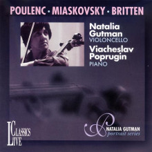 POULENC - BRITTEN:Sonate per cello e piano