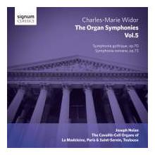 WIDOR: Complete Organ Symphonies - Vol.5
