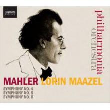 MAHLER: Sinfonie NN. 4 - 5 & 6