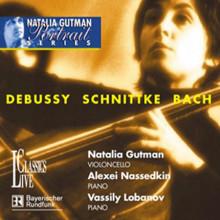 DEBUSSY/BACH: Musica per violoncello