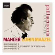 MAHLER: Sinfonie NN. 7 - 8 & 9