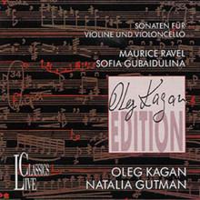 RAVEL/GUBAIDULINA: Sonate per vl e vlc