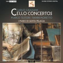 GRAZIANI: Sonate e concerti per cello