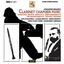 BRAHMS: Musica da camera per clarinetto