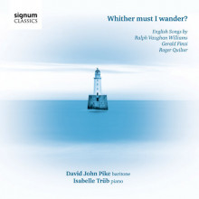 V.williams - Finzi - Quilter: English Songs